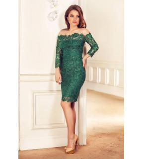 Rochie Zaira Verde Smarald