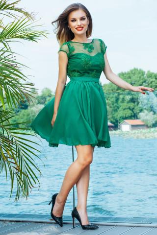 Rochie Erin Scurta Verde
