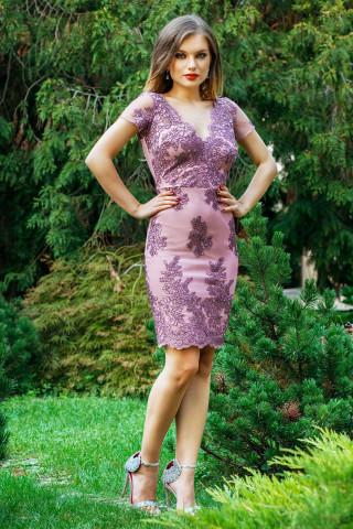 Rochie Eleny Lila