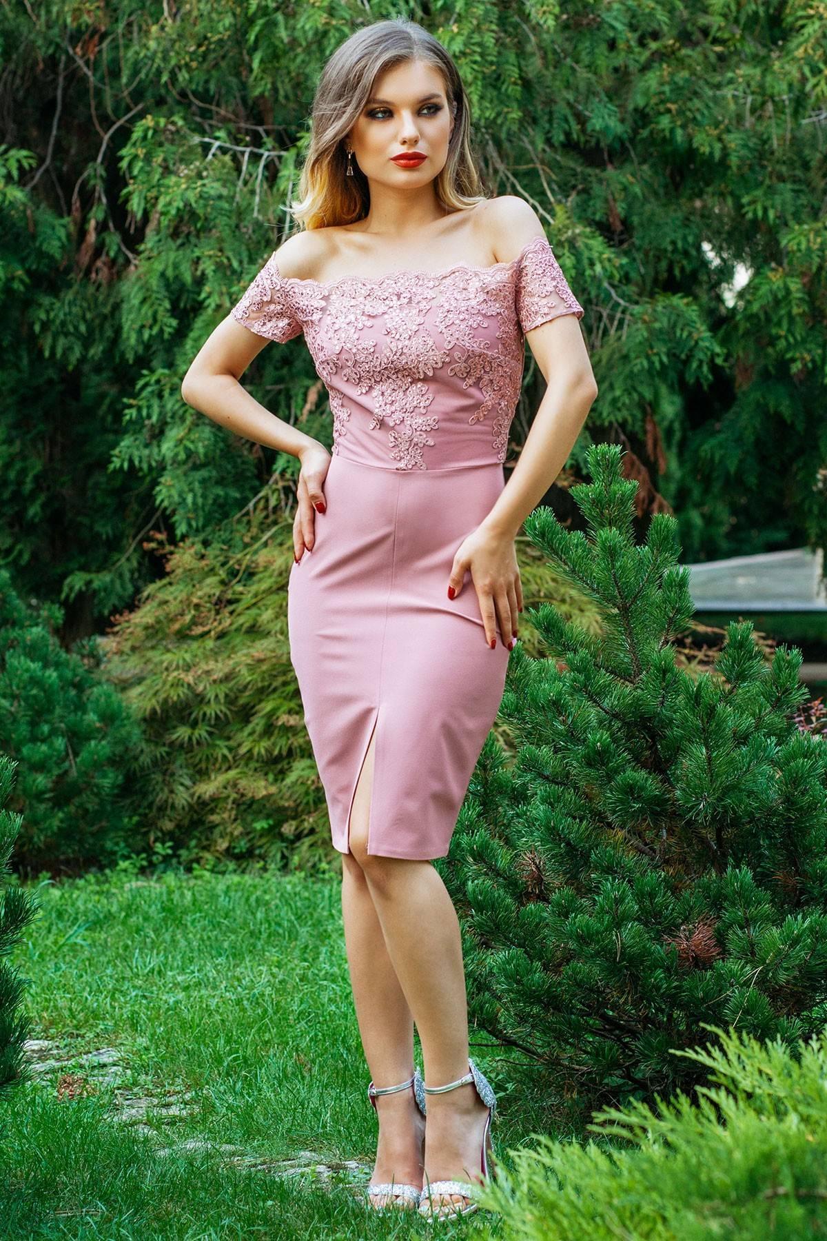 Rochie Kristie Rose Quartz