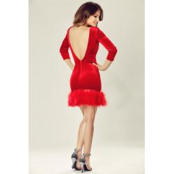 Donatella Red Dress