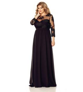 Rochie Plus Size Elissa Neagră