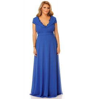 Rochie Plus Size Lena Albastră