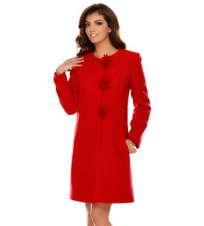 Palton Ava Roşu