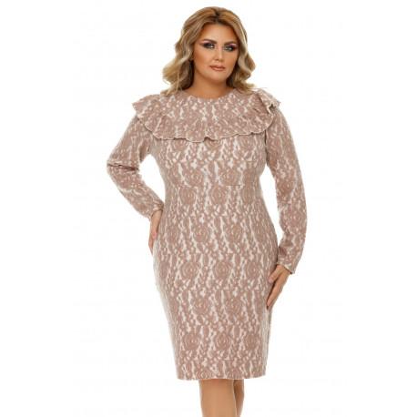 Rochie Plus Size Vera Bej