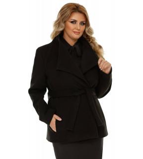 Jachetă Plus Size Eliana Neagră