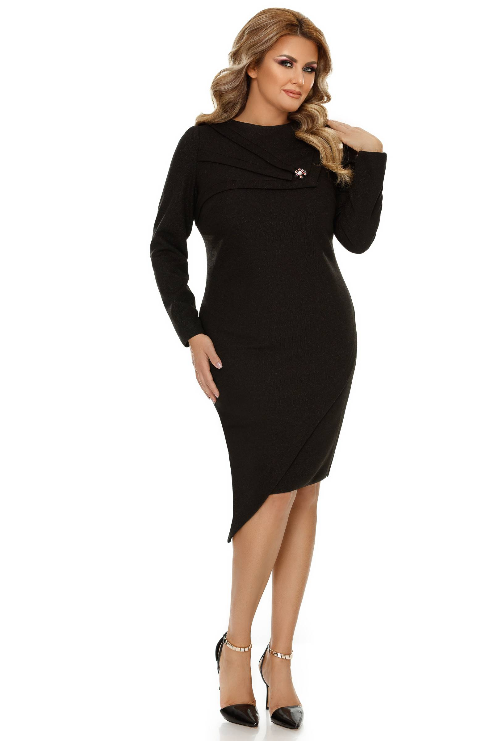 Rochie Plus Size Frida Neagră