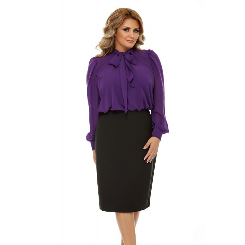 Rochie Plus Size Livia Mov