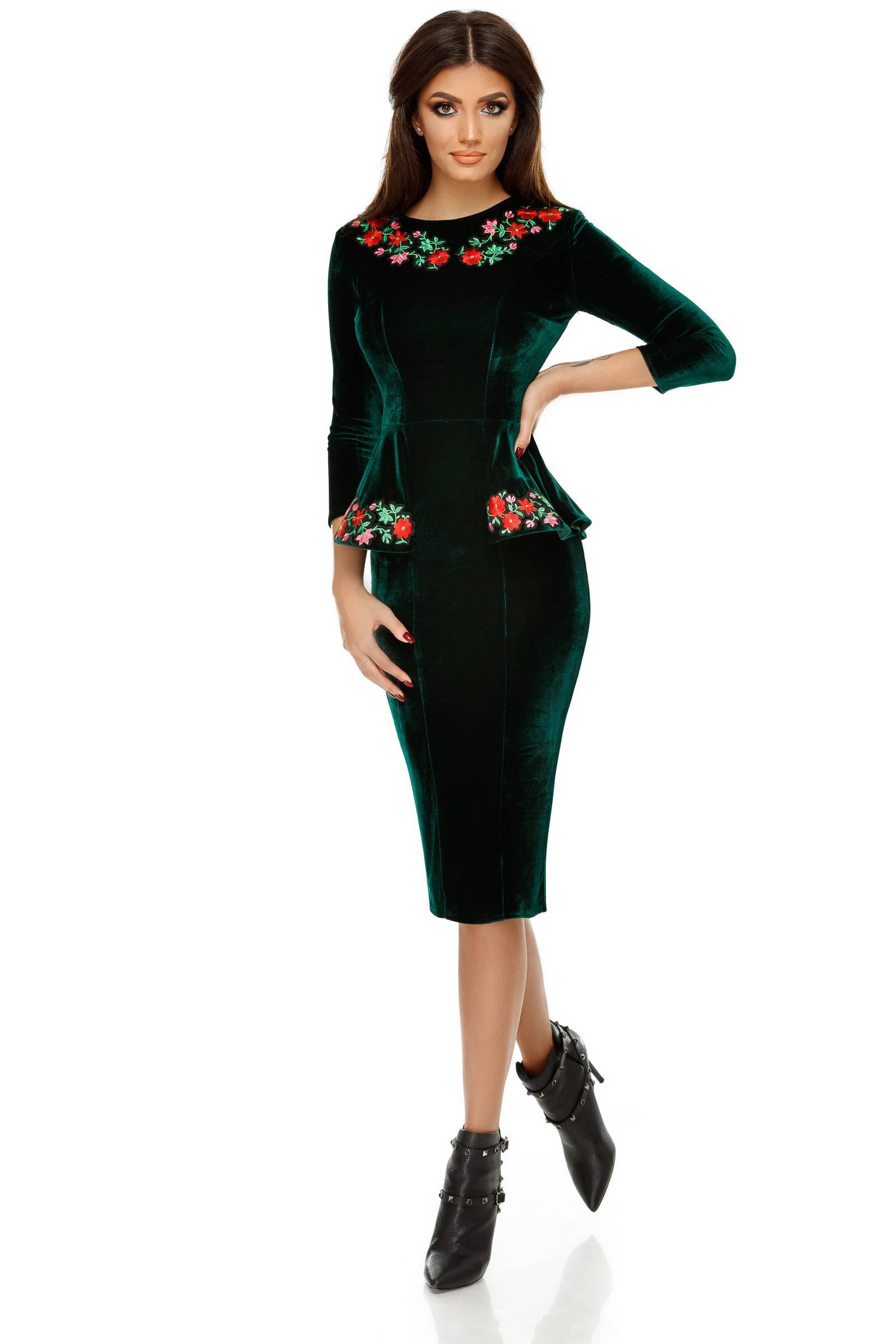 Rochie Amara Verde