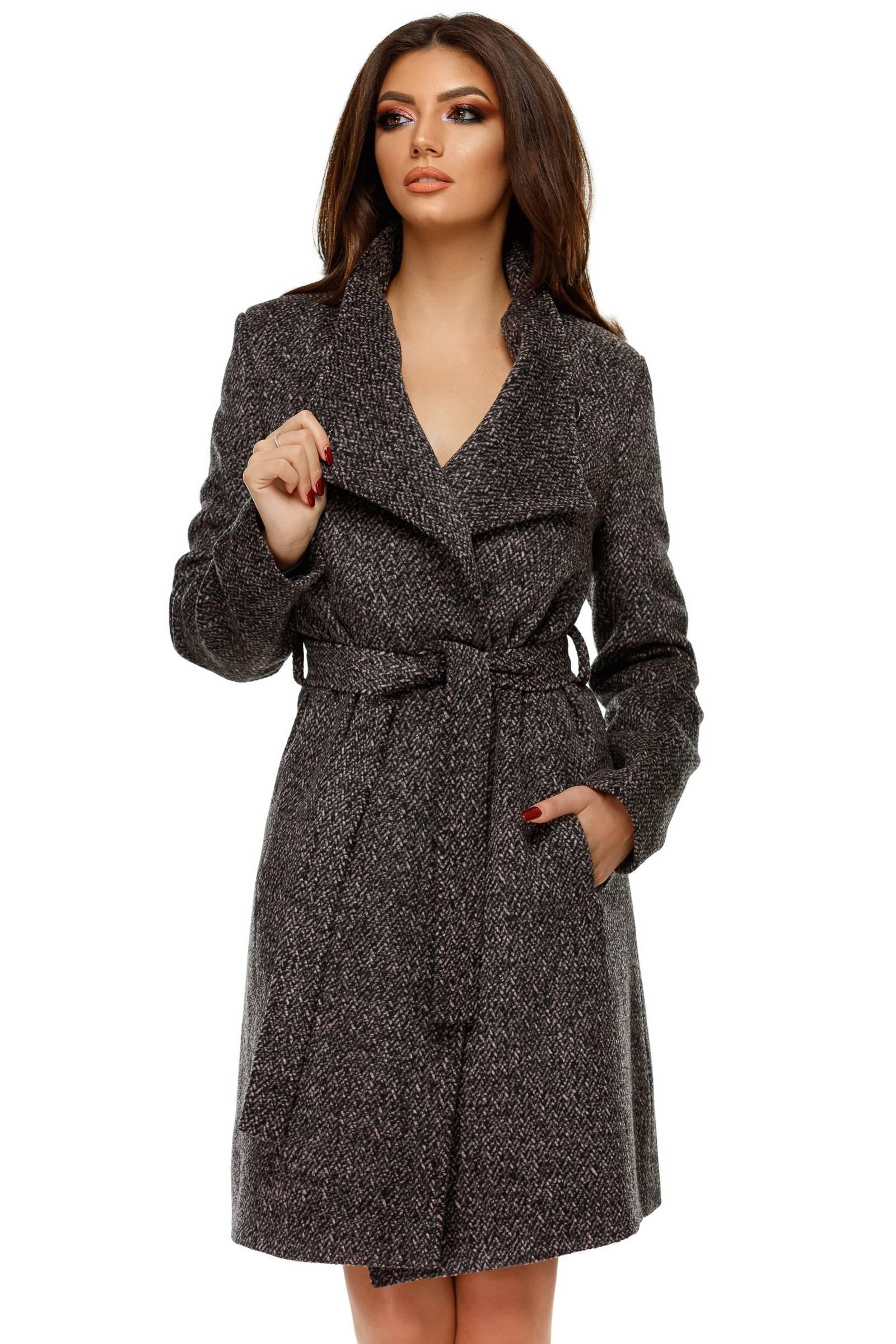 Palton Aniela Gri