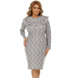 Rochie Plus Size Ivete Gri