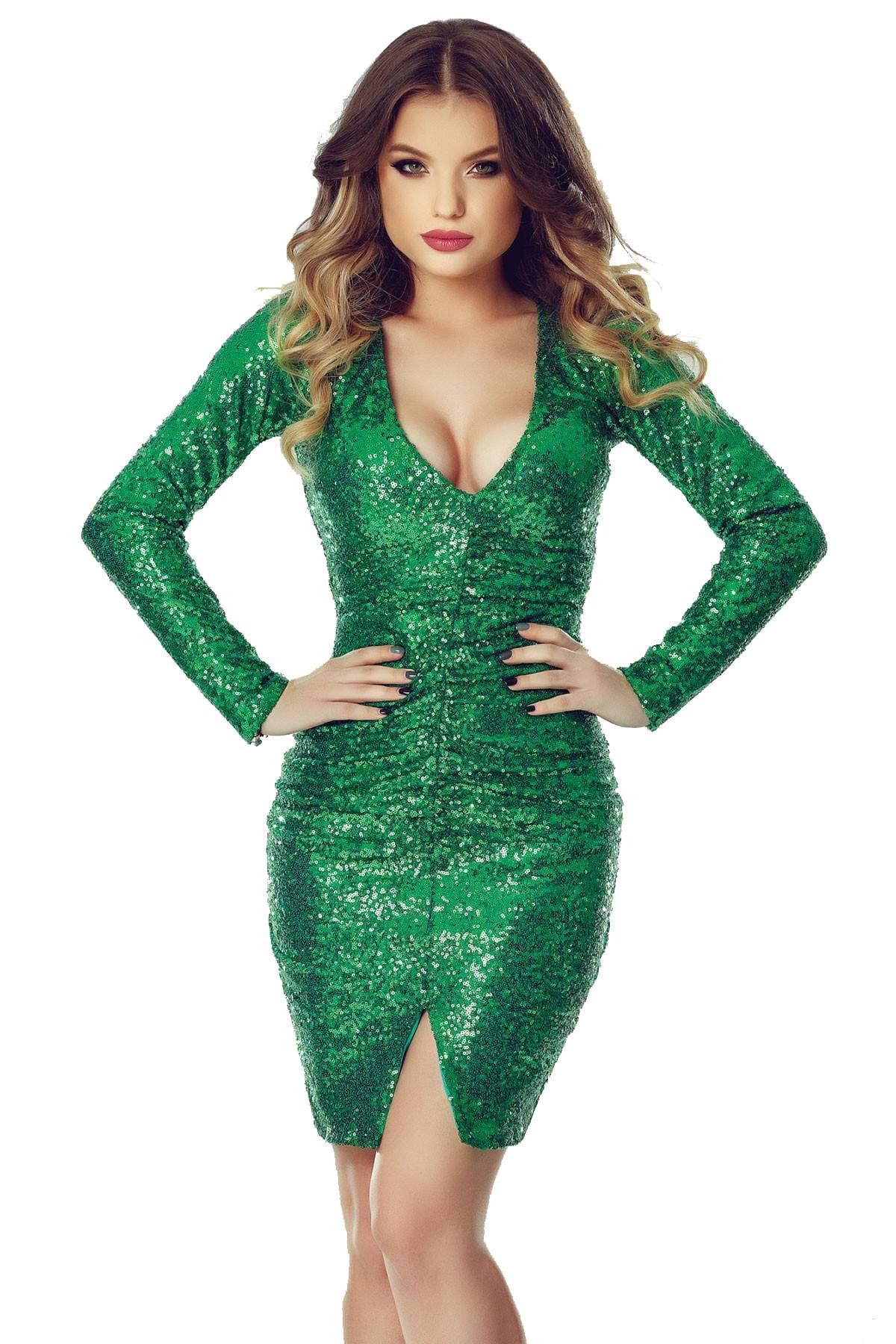 Rochie Ruby Verde