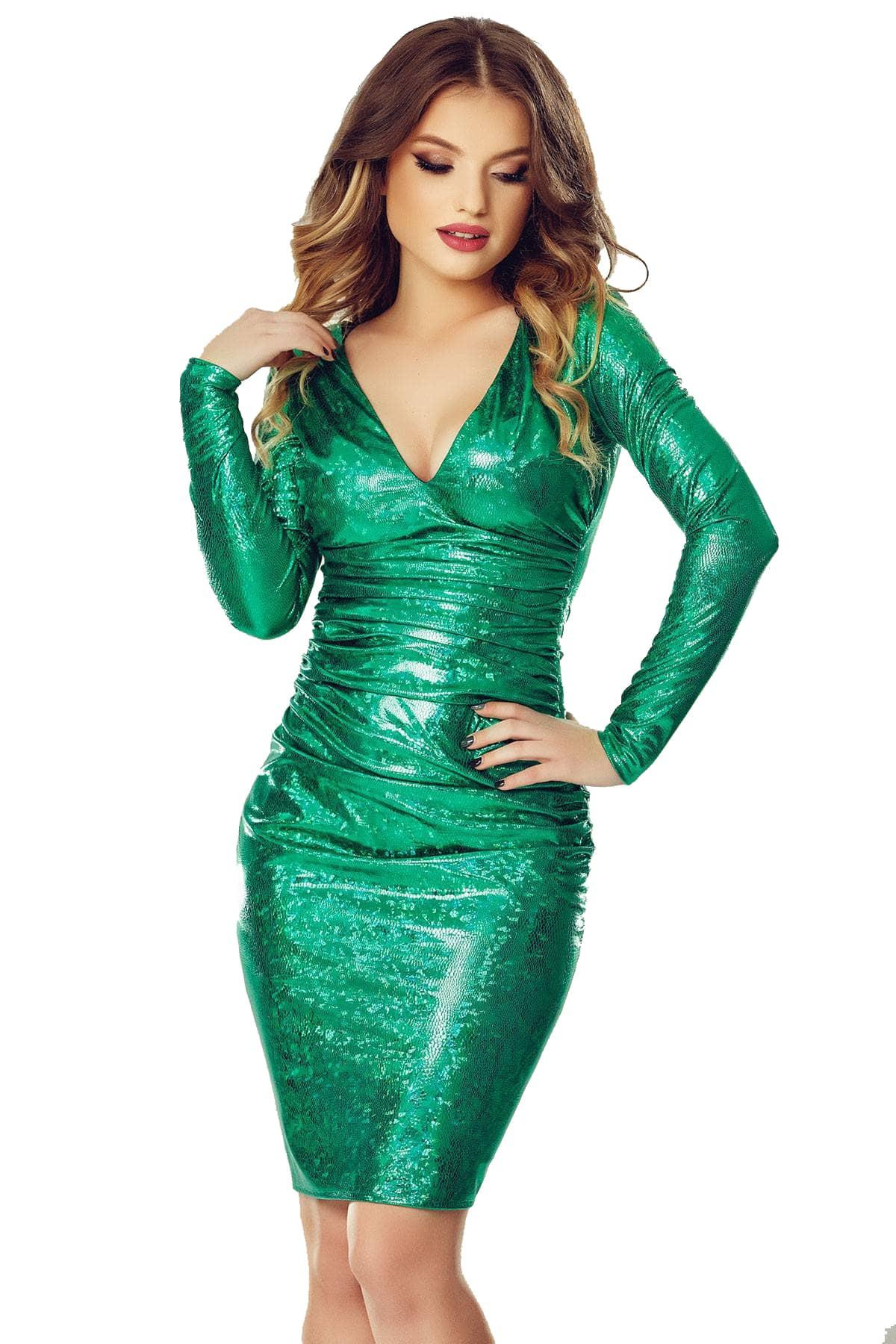Rochie Luna Verde