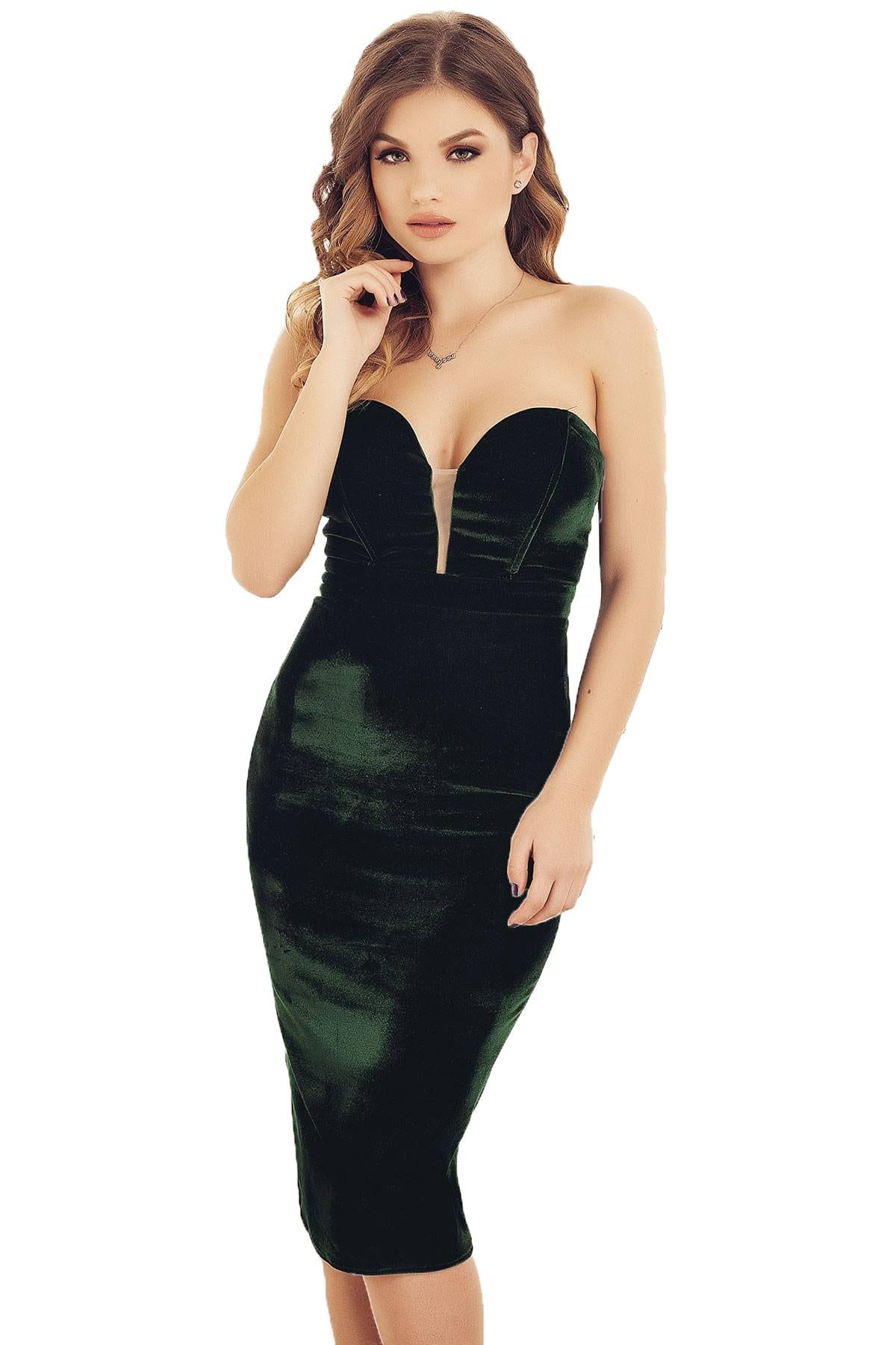 Rochie Scurtă Medeea Verde
