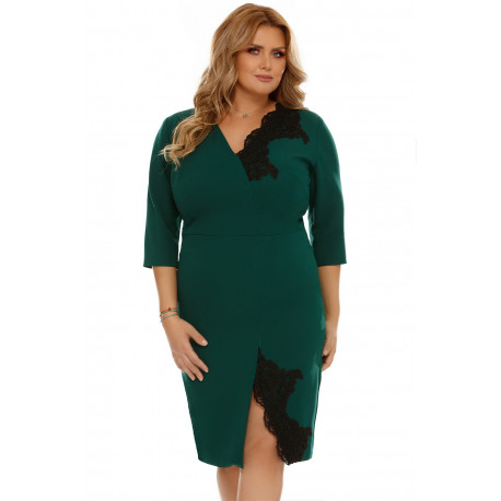 Rochie Plus Size Romina Verde