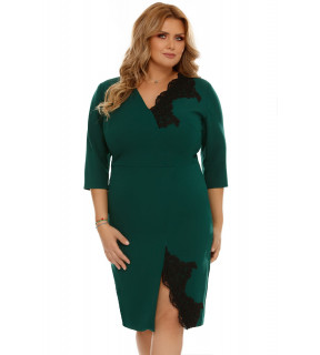Rochie Plus Size Teresa Verde
