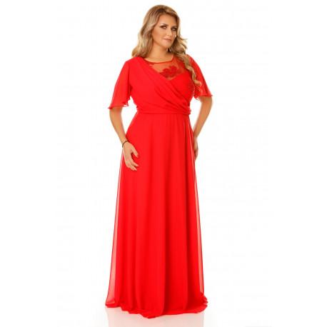 Rochie Plus Size Helen Roşie