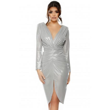 Rochie Elegance Argintie