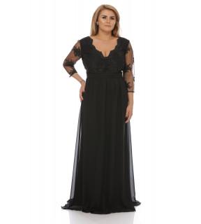 Rochie Plus Size Neagră