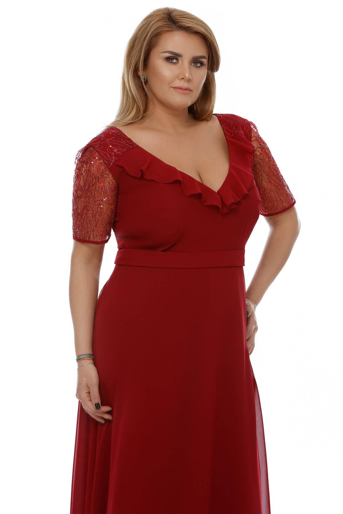 Rochie Plus Size Lavinia Bordo