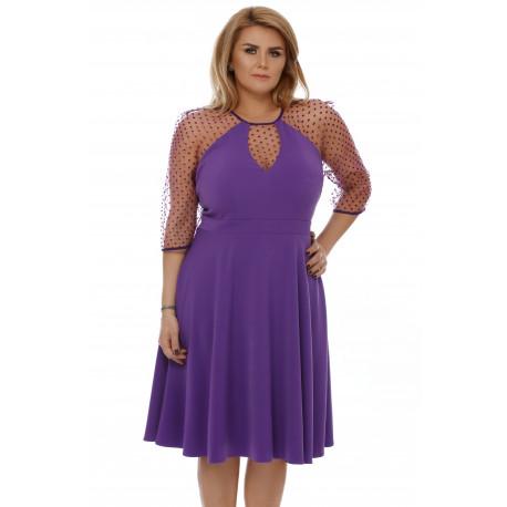 Rochie Plus Size Danielle Mov