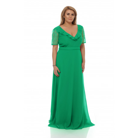 Rochie Plus Size Lavinia Verde