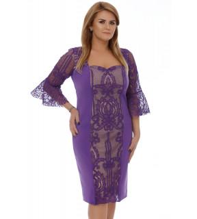 Rochie Plus Size Nicola Mov