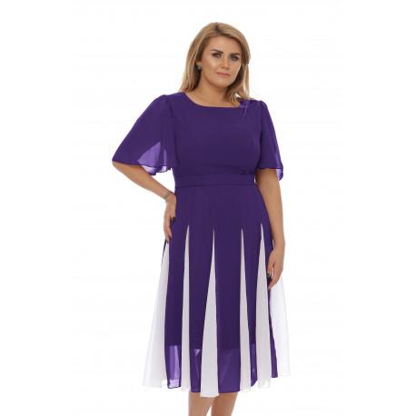 Rochie Plus Size Oana Mov