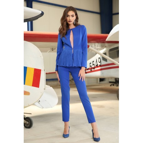Pantalon Audrey Albastru