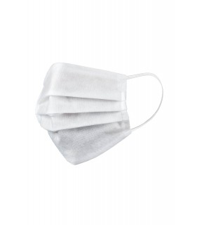 Mască de unică folosință, de protecție pentru față, din polipropilenă, albă