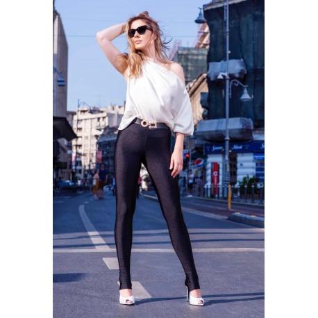 Pantaloni legging elastici