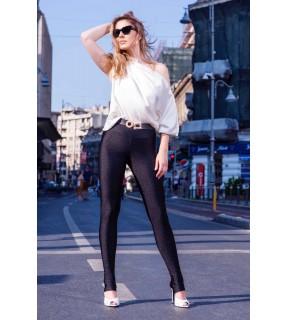 Pantaloni legging elastici lungi