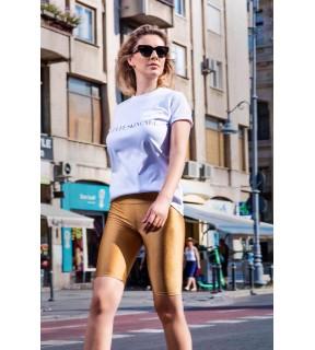 Pantaloni legging stil ciclism