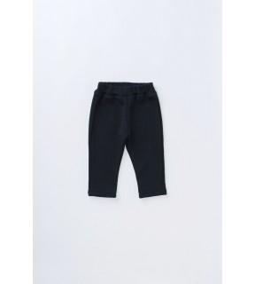 Pantalon din bumbac flauşat pentru bebeluşi, fete