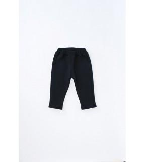 Pantalon din bumbac vătuit pentru bebeluşi, băieţi