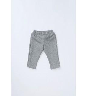 Pantalon din bumbac vătuit pentru bebeluşi, fete
