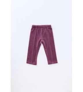 Pantalon din catifea de bumbac pentru fete