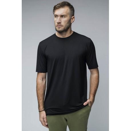 Tricou din tricot cu margini nefinisate