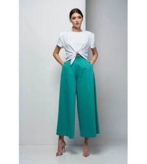 Pantaloni tip culotte din tercot