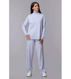 Compleu Olympe tricotat cu guler înalt