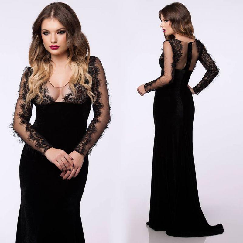 Cum poate o rochie negra lunga sa iti asigure o aparitie de invidiat?