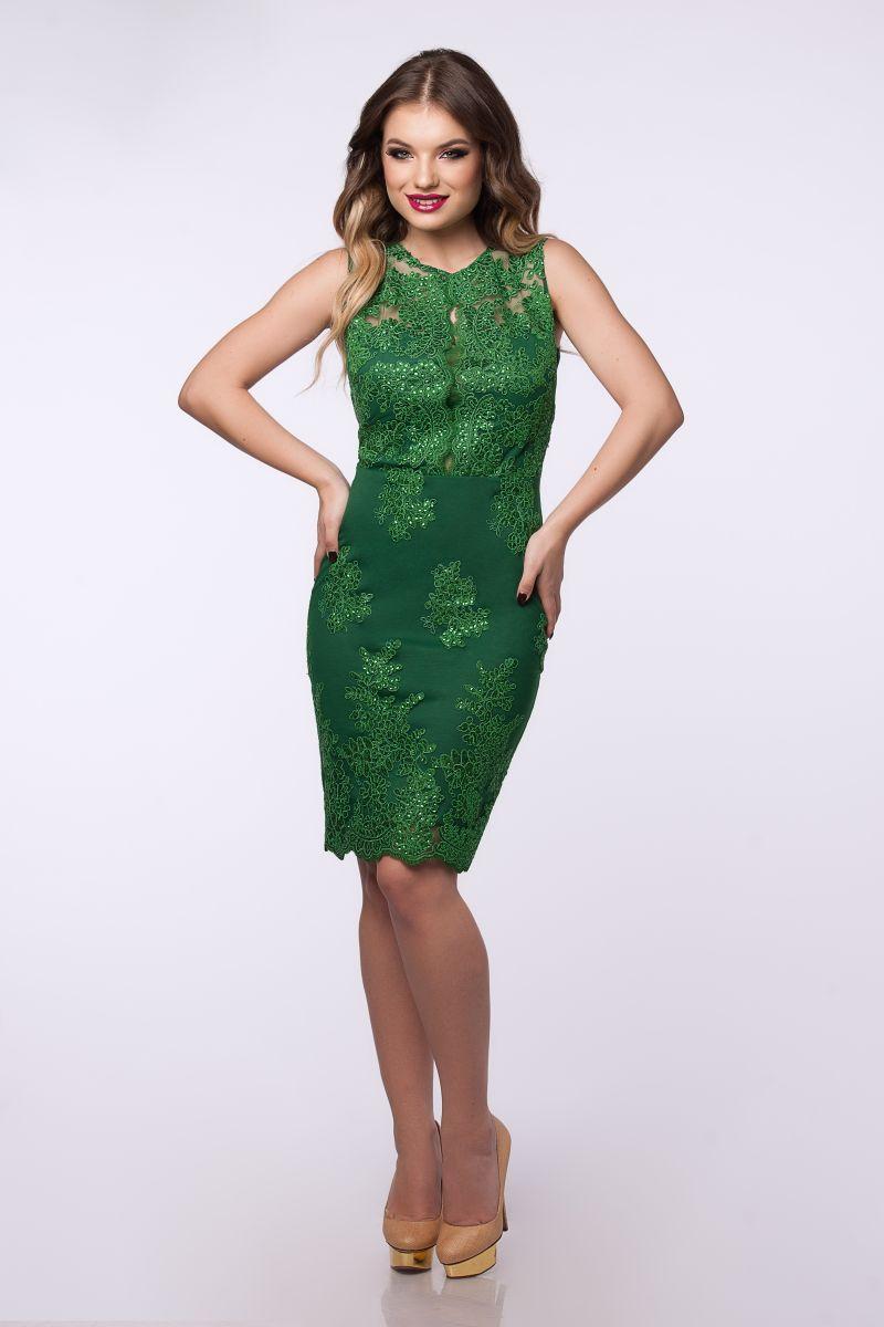 Rochii verzi de seara pentru tinute festive de succes