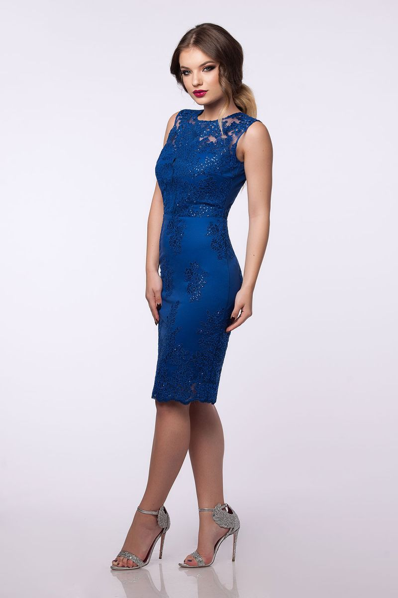 rochie-dantela-albastra
