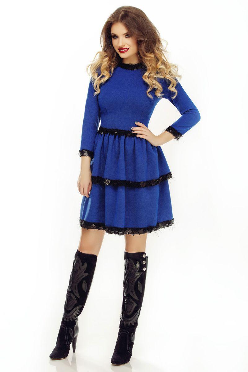 rochie casual de toamna iarna