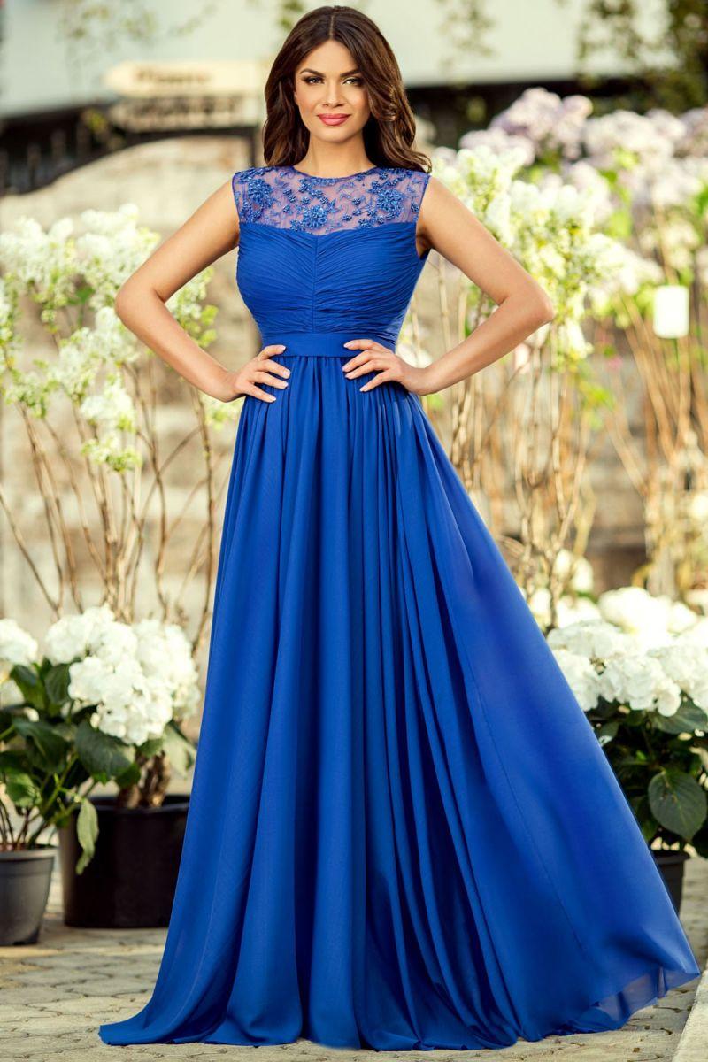 rochie-albastra-lunga
