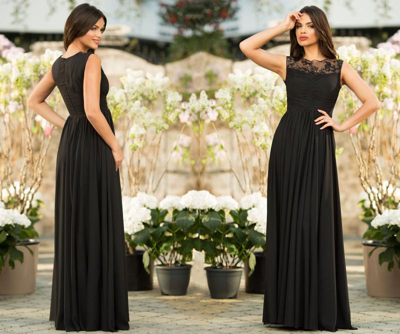 Rochia neagra lunga: alegerea perfecta pentru orice ocazie