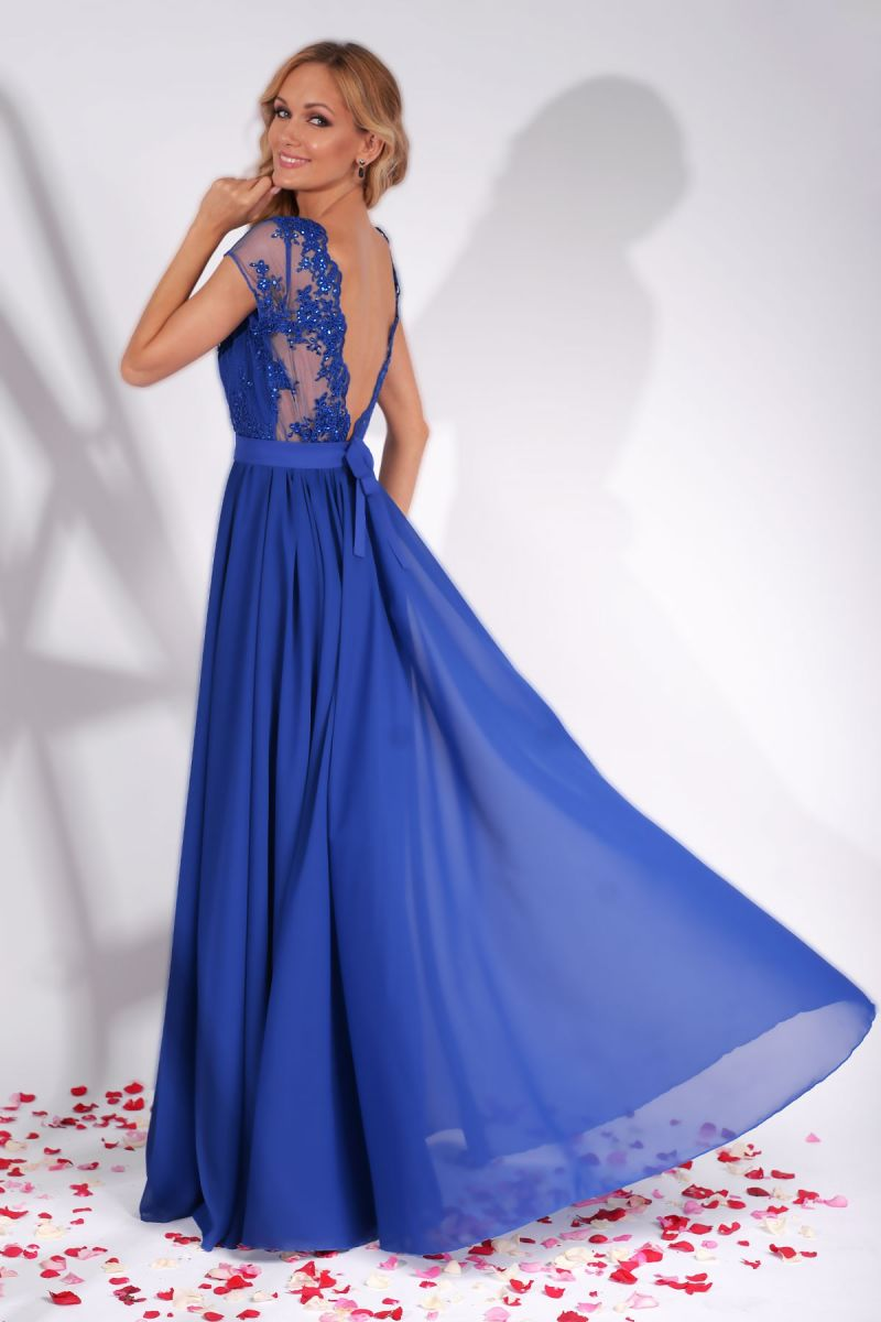 rochie-de-seara-albastra