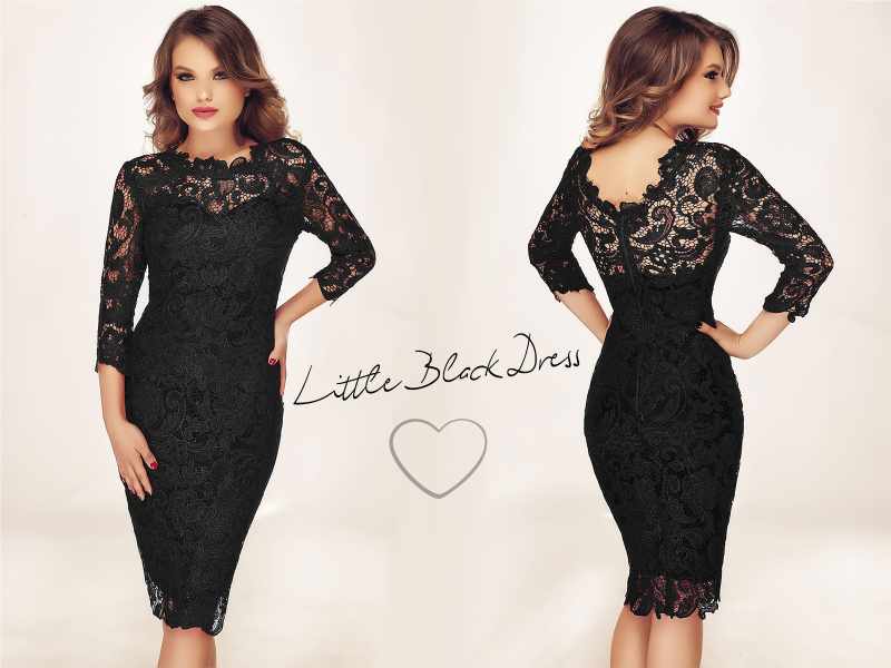 Key trend: rochia din dantela neagra care transcende moda