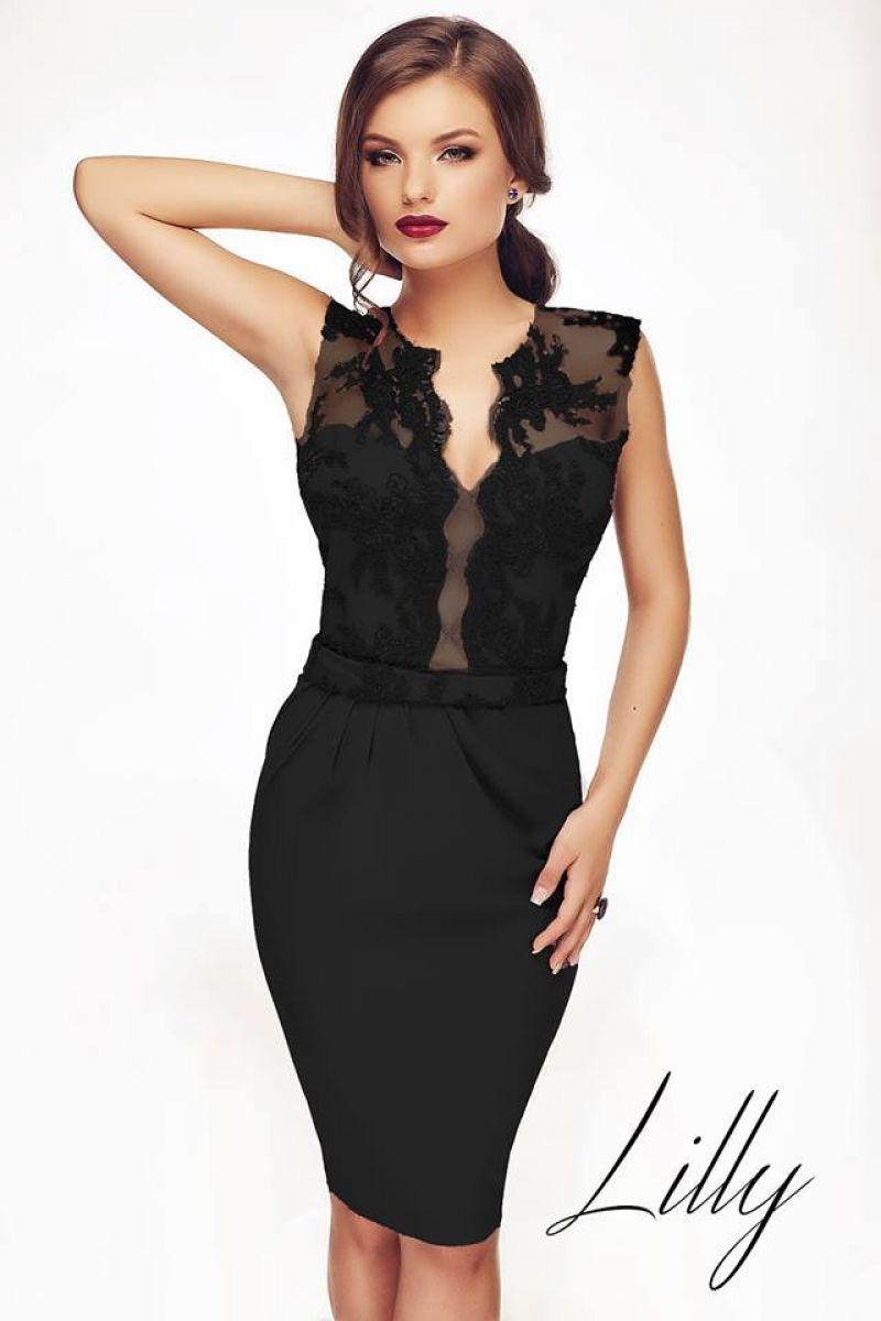 Recomandare: rochie neagra de seara pentru evenimente speciale