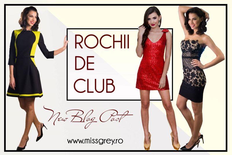 Rochii de club: cele mai frumoase modele